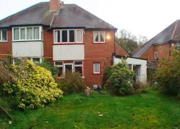 Thumbnail 3 bed semi-detached house for sale in Harts Green Road, Harborne