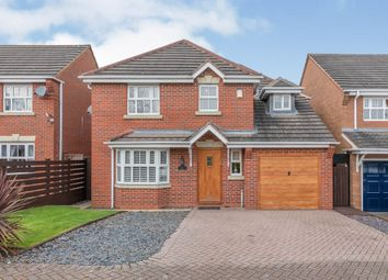 Thumbnail 4 bed detached house for sale in Meadowsweet Way, Hednesford, Cannock
