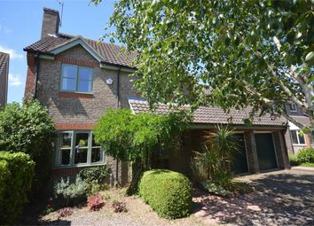 Thumbnail 4 bed detached house for sale in Badgers Brook Road, Drayton, Norwich, Norfolk