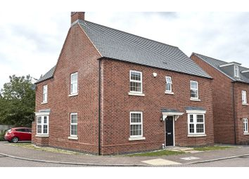 Thumbnail 4 bed detached house for sale in Cornfield Close, Ellistown