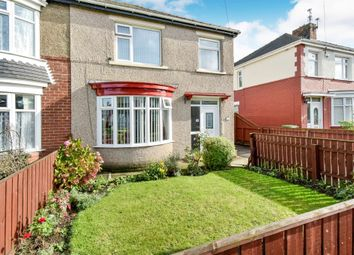 Thumbnail 3 bed semi-detached house for sale in Park Avenue, Thornaby, Stockton-On-Tees