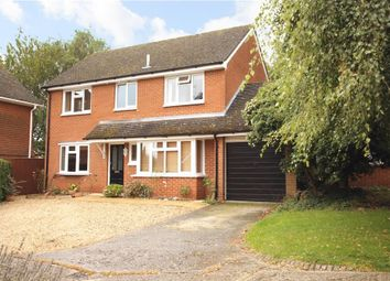 Thumbnail 4 bed detached house for sale in Bensgrove Close, Woodcote, Reading