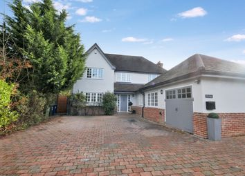 Thumbnail 6 bed detached house for sale in Haverhill Road, Castle Camps, Cambridge