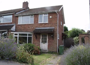 Thumbnail 3 bed semi-detached house for sale in Glenfield Frith Drive, Glenfield, Leicester