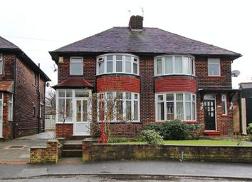 Thumbnail 3 bedroom semi-detached house for sale in Hardmans Road, Whitefield, Manchester