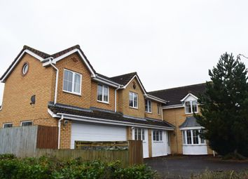 Thumbnail 5 bed detached house for sale in Kilverstone, Werrington, Peterborough
