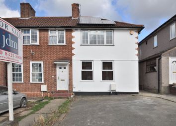 Thumbnail 3 bed semi-detached house for sale in Dunkery Road, London