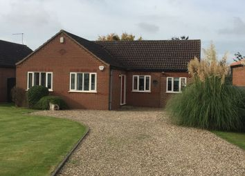 Thumbnail 3 bed detached bungalow to rent in Manor Drive, Long Bennington, Newark