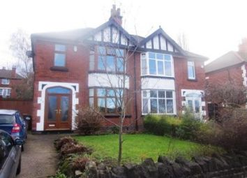 Thumbnail 3 bed semi-detached house to rent in Valley Road, Sherwood, Nottingham
