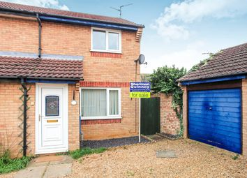 Thumbnail 2 bed semi-detached house for sale in Mealsgate, Gunthorpe, Peterborough