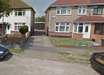 Thumbnail 3 bed terraced house to rent in Crosslands Avenue, Southall, Middlesex