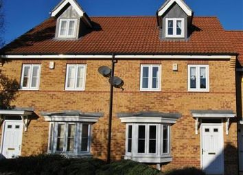Thumbnail 3 bed terraced house to rent in Hudson Way, Grantham