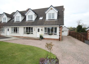Thumbnail 3 bed semi-detached house for sale in Hydepark Manor, Newtownabbey