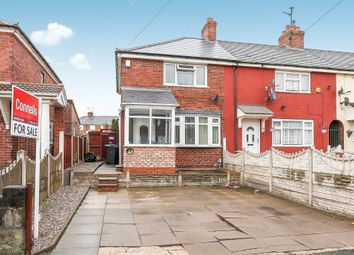 Thumbnail 3 bed end terrace house for sale in Bailey Street, West Bromwich