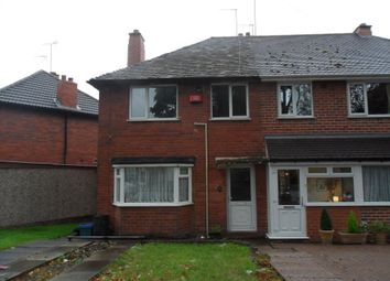 Thumbnail 3 bed semi-detached house to rent in Hassop Road, Great Barr, Birmingham