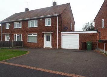 Thumbnail 3 bed property to rent in Ireton Road, Bushbury, Wolverhampton