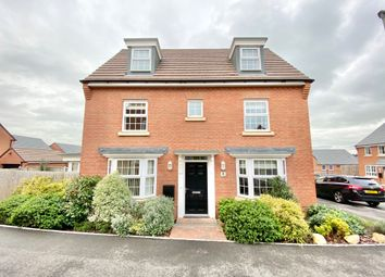 Thumbnail 4 bed detached house to rent in Badger Crescent, Whitchurch