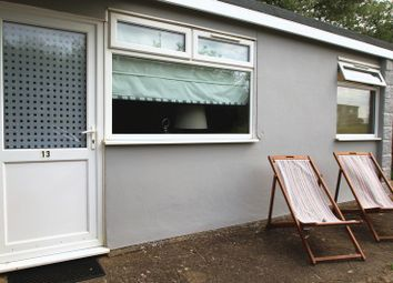 Thumbnail 2 bedroom bungalow for sale in Chalet, Sandown Bay Holiday Park, Sandown