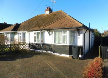 Thumbnail 2 bed semi-detached bungalow for sale in Russell Drive, Tankerton, Whitstable, Kent