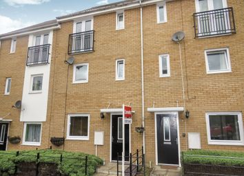 Thumbnail 4 bed town house for sale in Lakeview Way, Hampton Centre, Peterborough