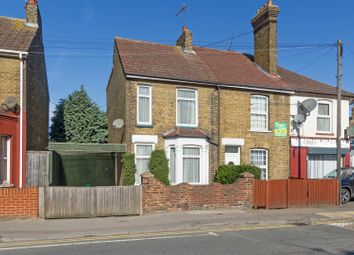 Thumbnail 2 bedroom end terrace house for sale in Murston Road, Sittingbourne
