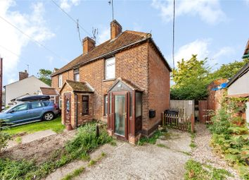 Thumbnail End terrace house for sale in The Street, Little Waltham, Chelmsford, Essex