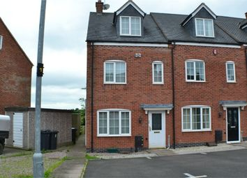 Thumbnail 3 bedroom end terrace house to rent in Berrywell Drive, Barwell, Leicestershire