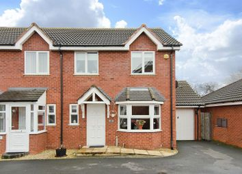 Thumbnail 3 bed semi-detached house for sale in Church Street, Clayhanger, Walsall