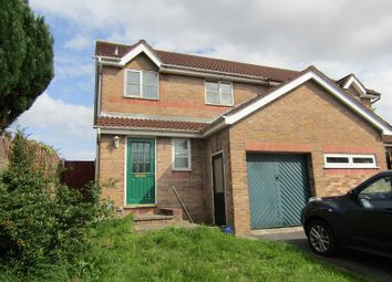 Thumbnail 3 bed semi-detached house for sale in Ffynnon Samlet, Llansamlet, Swansea, City And County Of Swansea.