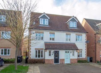 Thumbnail 3 bed semi-detached house to rent in Elgar Way, Stamford