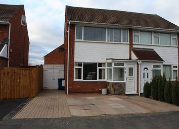 Thumbnail 3 bed semi-detached house for sale in Torc Avenue, Amington, Tamworth
