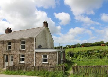 Thumbnail 3 bed cottage for sale in Porkellis, Helston