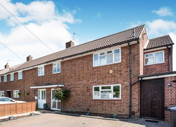 Thumbnail 4 bed terraced house for sale in Churchill Crescent, Welham Green, Hatfield