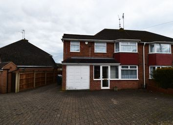 Thumbnail 4 bed semi-detached house to rent in Clent Road, Rednal, Birmingham