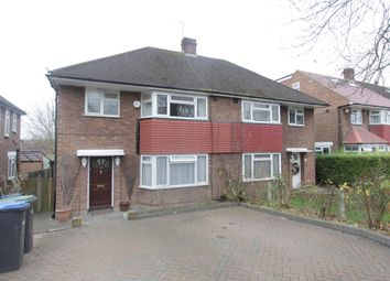 Thumbnail 3 bed flat to rent in Abbotshall Avenue, Southgate, London