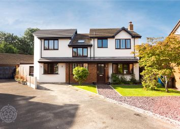 Thumbnail 4 bed detached house for sale in Crombouke Fold, Worsley, Manchester