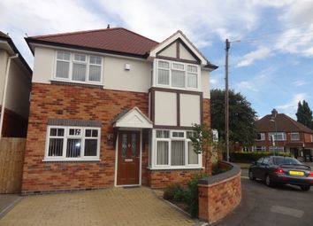 Thumbnail 3 bed detached house to rent in Bosworth Road, Birmingham