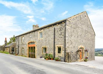 Thumbnail 4 bed barn conversion for sale in Skipton Road, Silsden, Keighley