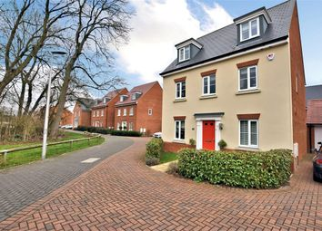Thumbnail 5 bedroom detached house for sale in Sika Gardens, Three Mile Cross, Reading