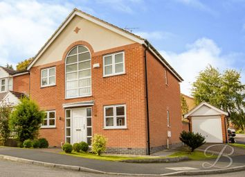 Thumbnail 4 bed detached house for sale in Leander Close, Sutton-In-Ashfield
