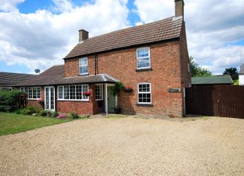 Thumbnail 4 bed detached house for sale in Roman Road, Moulton Chapel, Spalding