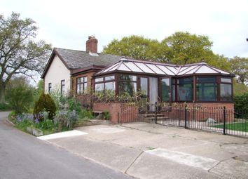 Thumbnail 3 bed detached bungalow for sale in The Green, Knodishall, Saxmundham