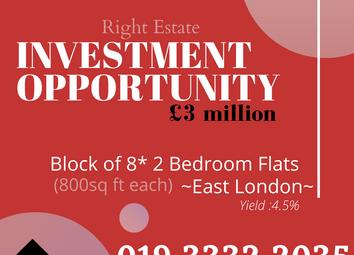 East London, East London E12. Block of flats