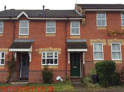 Thumbnail 2 bed terraced house to rent in Constable Road, Haverhill