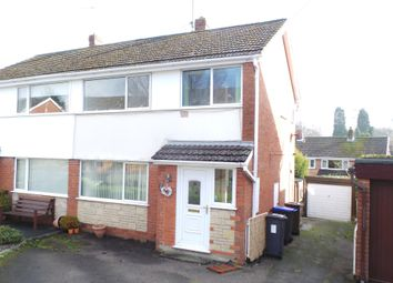 Thumbnail 3 bed semi-detached house to rent in Dalehouse Road, Cheddleton, Leek