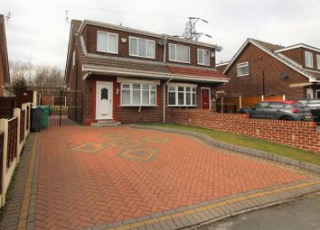 Thumbnail 3 bedroom semi-detached house for sale in The Fairway, Moston, Manchester
