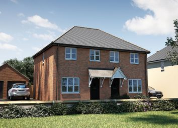 "Thumbnail 3 bed semi-detached house for sale in ""The Studland"" at Oak Tree Road, Hugglescote, Coalville"