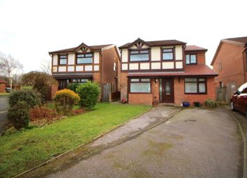 Thumbnail 5 bedroom detached house for sale in Barlow Fold Road, Reddish, Stockport