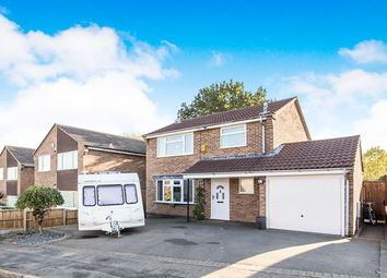 Thumbnail 3 bed detached house for sale in Bagley Close, Loughborough