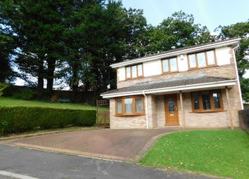 Thumbnail 5 bedroom detached house for sale in Bryn Derwen, Pontardawe, Swansea.